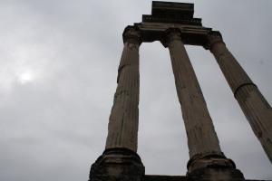 Column ruins.